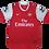 Thumbnail: Arsenal 2010-11 Home Jersey #8 Nasri (Medium)