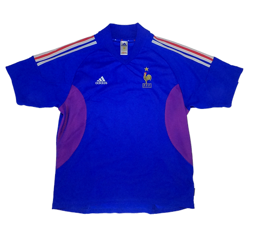 France 2002-04 Home Jersey (XL)