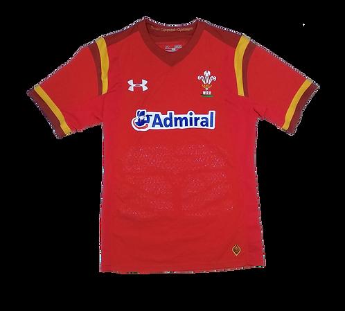 Wales 2016-17 Home Jersey (Medium)