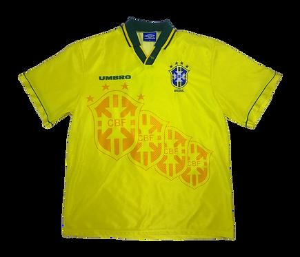 Brazil 1994-97 Home Jersey (XL)