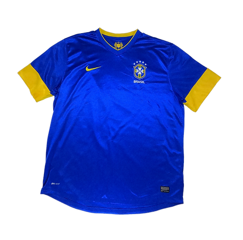 Brazil 2012-13 Away Jersey (XXL)