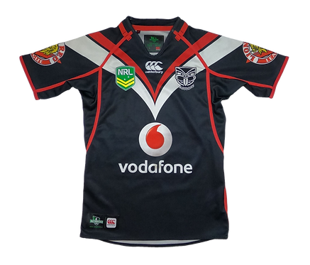 New Zealand Warriors 2013 Home Jersey (Small)