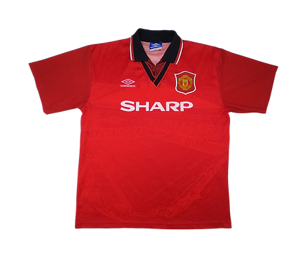 Manchester United 1995-96 Home Jersey (XL)