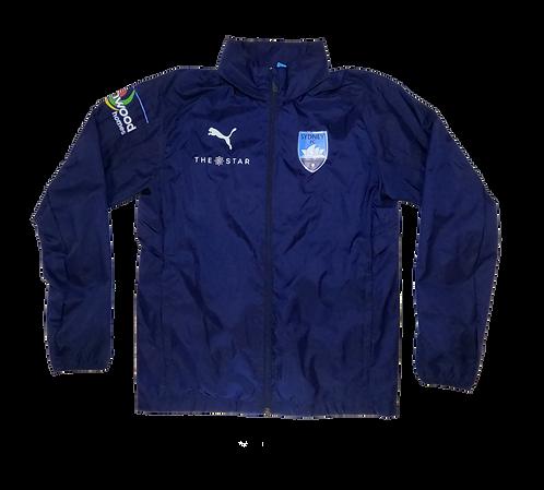 Sydney FC 2017-18 Jacket with hidden hood (Small)
