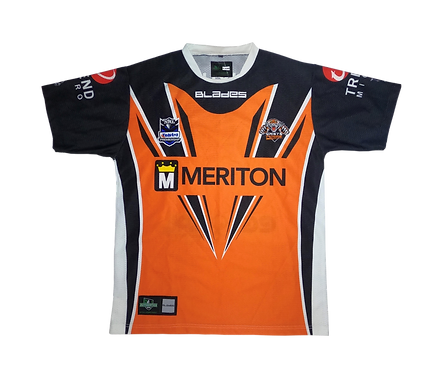 Wests Tigers 2012 Home Jersey (Large)