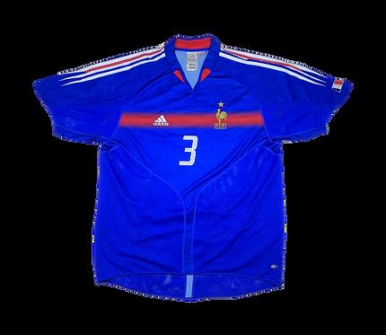 France 2004-06 Home Jersey #(XL)