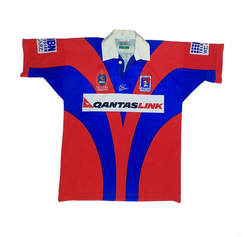 Newcastle Knights 2002 Home Jersey (Size 12)