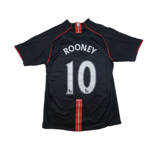 Manchester United 2007-08 Away Jersey #10 Wayne Rooney (Tight Medium)
