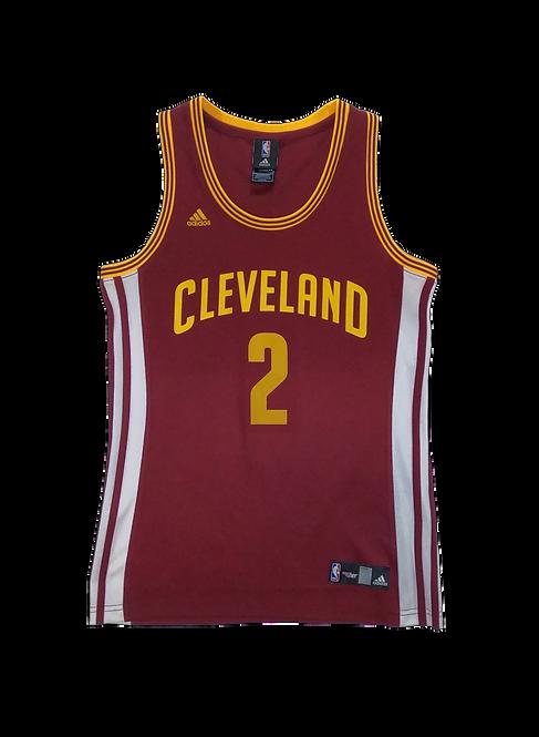 Cleveland Cavaliers 2014-17 Home Jersey #2 Kyrie Irving (Medium Women's)