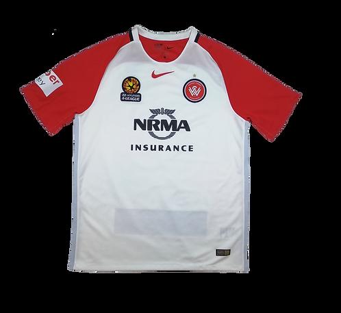 Western Sydney Wanderers 2016-17 Away Jersey (Large)