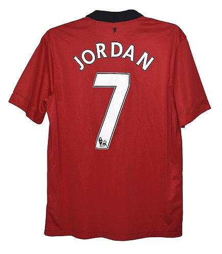 Manchester United 2013-14 Home Jersey #7 Jordan (Medium)