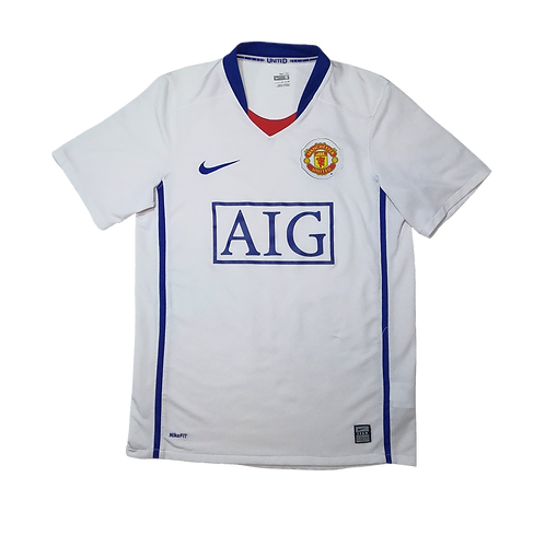 Manchester United 2007-09 Away Jersey (Small)