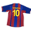 Thumbnail: FC Barcelona 2004-05 Home Jersey #10 Ronaldinho (Medium)