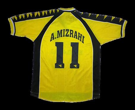 Beitar Jerusalem 2000-01 Home Jersey #11 A.Mizrahi (Medium)