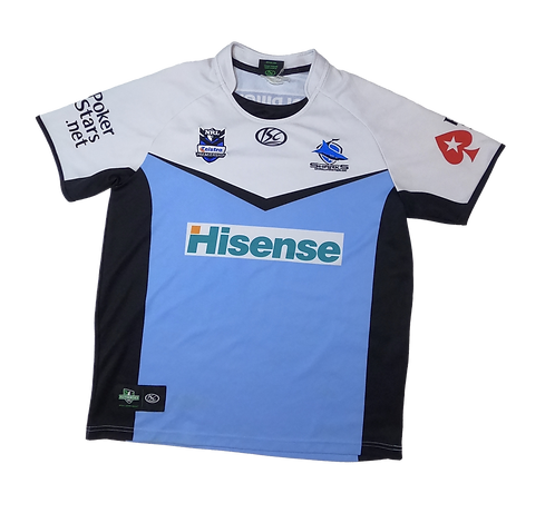 Cronulla-Sutherland Sharks 2010 Home Jersey (Medium))