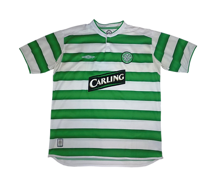 Celtic 2003-04 Home Jersey (Large)