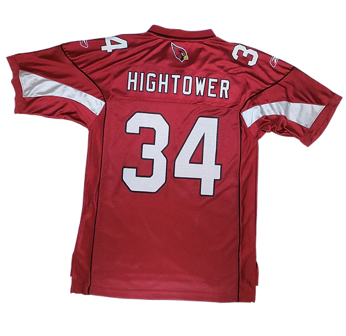 Arizona Cardinals 2008-09 Reebok Premier Home Jersey #34 Tim Hightower (Medium)