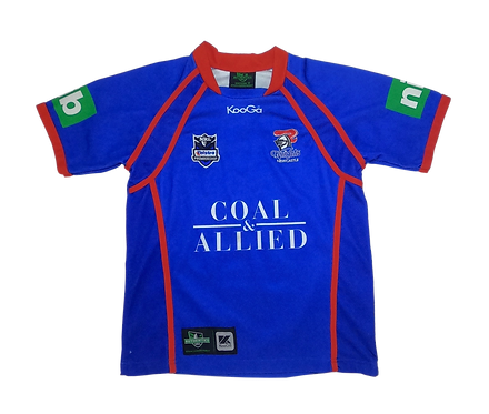 Newcastle Knights 2009 Home Jersey (Size 12)