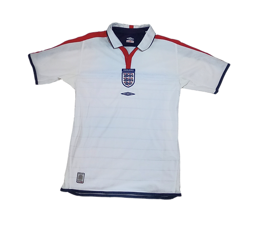 England 2003-05 Reversible Home Jersey (Small)
