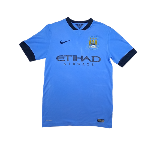 Manchester City 2014-15 Home Jersey (Small)