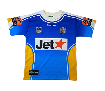 Gold Coast Titans 2009 Home Jersey (Small)