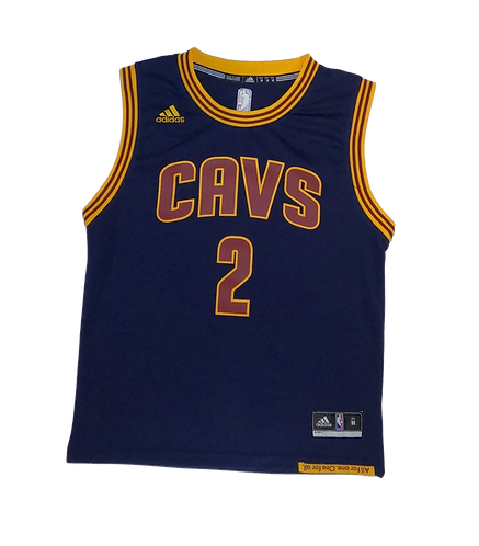 Cleveland Cavaliers 2014-17 Alternate Jersey #2 Kyrie Irving (Medium Boys)