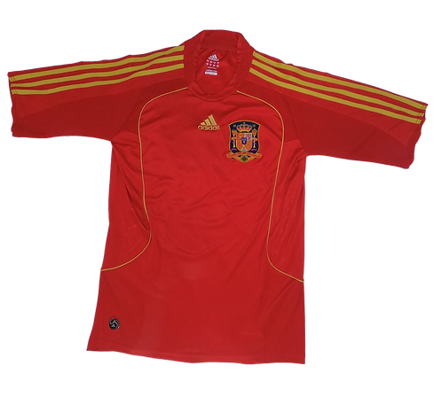 Spain 2008-10 Home Jersey (Multiple Sizes)