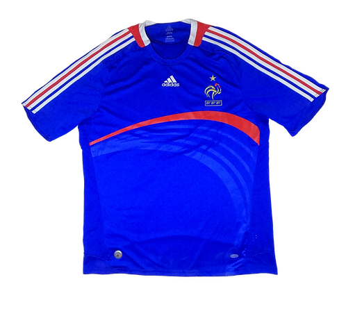 France 2007-08 Home Jersey (XL)