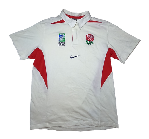 England 2003 Rugby World Cup Home Jersey (Medium)