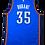 Thumbnail: Oklahoma City Thunder 2010-14 Adidas Swingman Away Jersey #35 Kevin Durant (Med)
