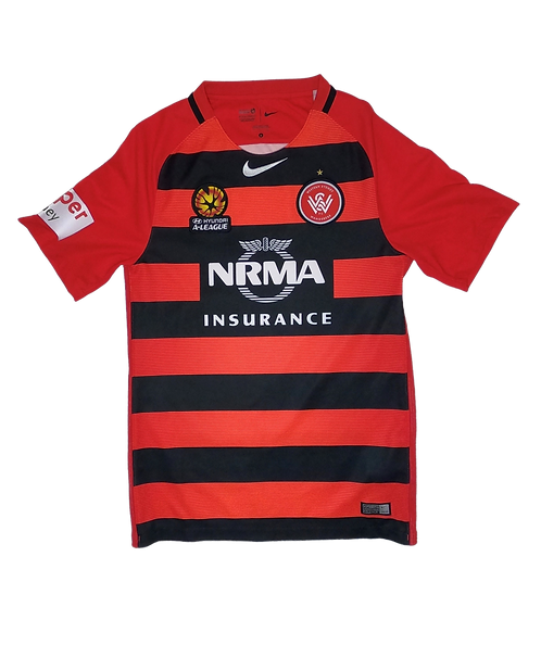 Western Sydney Wanderers 2016-17 Home Jersey (Small)