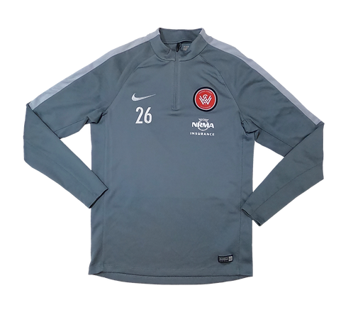 Western Sydney Wanderers 2012-15 #26 Long Sleeve Training Jersey (Medium)
