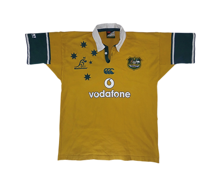 Wallabies 2002-03 Home Jersey (Large)