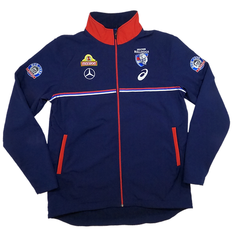 Western Bulldogs 2020 Travel Jacket (BNWT) (Large)