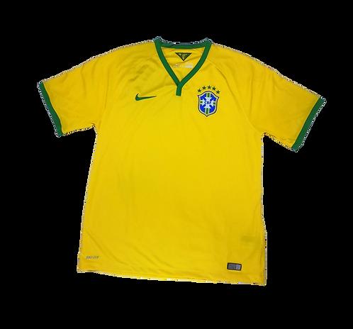 Brazil 2014-15 Home Jersey (XL)