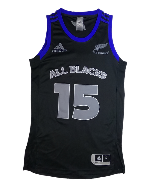 All Blacks 2014/15 Basketball Jersey (Medium)