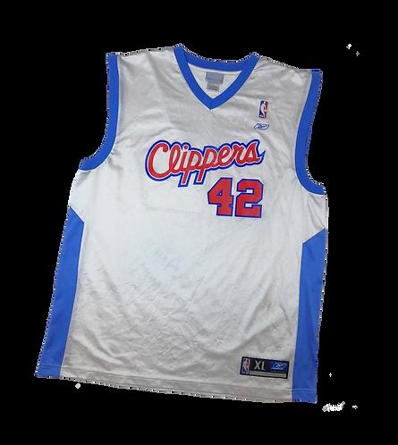 LA Clippers 2002-06 Reebok Elton Brand Home Jersey (XL)