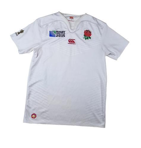 England 2015 Rugby World Cup Home Jersey (Medium)