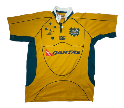 Wallabies 2007-09 Home Jersey (Medium)