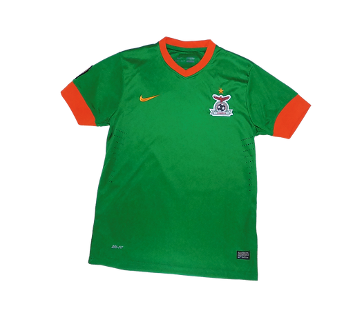Zambia 2013 Africa Cup of Nations Home Jersey (Medium)