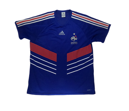 France 2009-10 Home Jersey (Basic) Medium