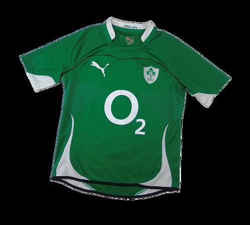 Ireland Rugby Union 2009-11 Home Jersey (Medium)