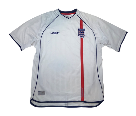 England 2001-03 Home Jersey (XL)