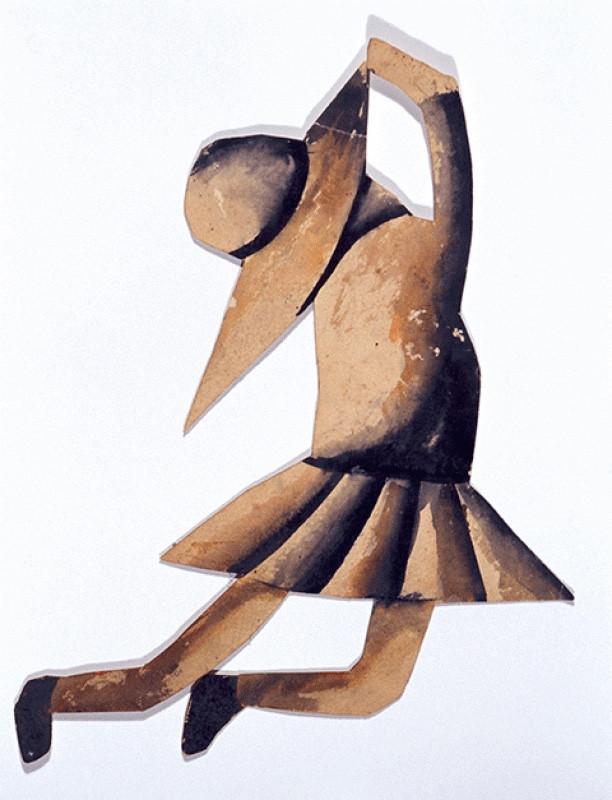 Schoolgirl Maquette- The schoolgirl Ballet Project 1955.