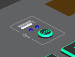 USB에 저장된 곡 연주
