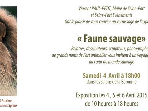 Exposition Faune Sauvage les 4, 5 et 6 avril 2015