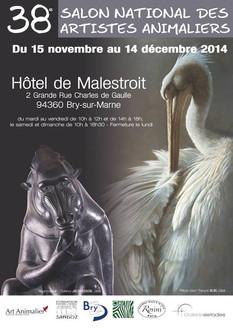 Salon National des Artistes Animalier (SNAA) 2014