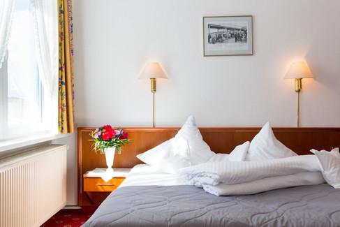 Doppelzimmer im Hotel Ihnken