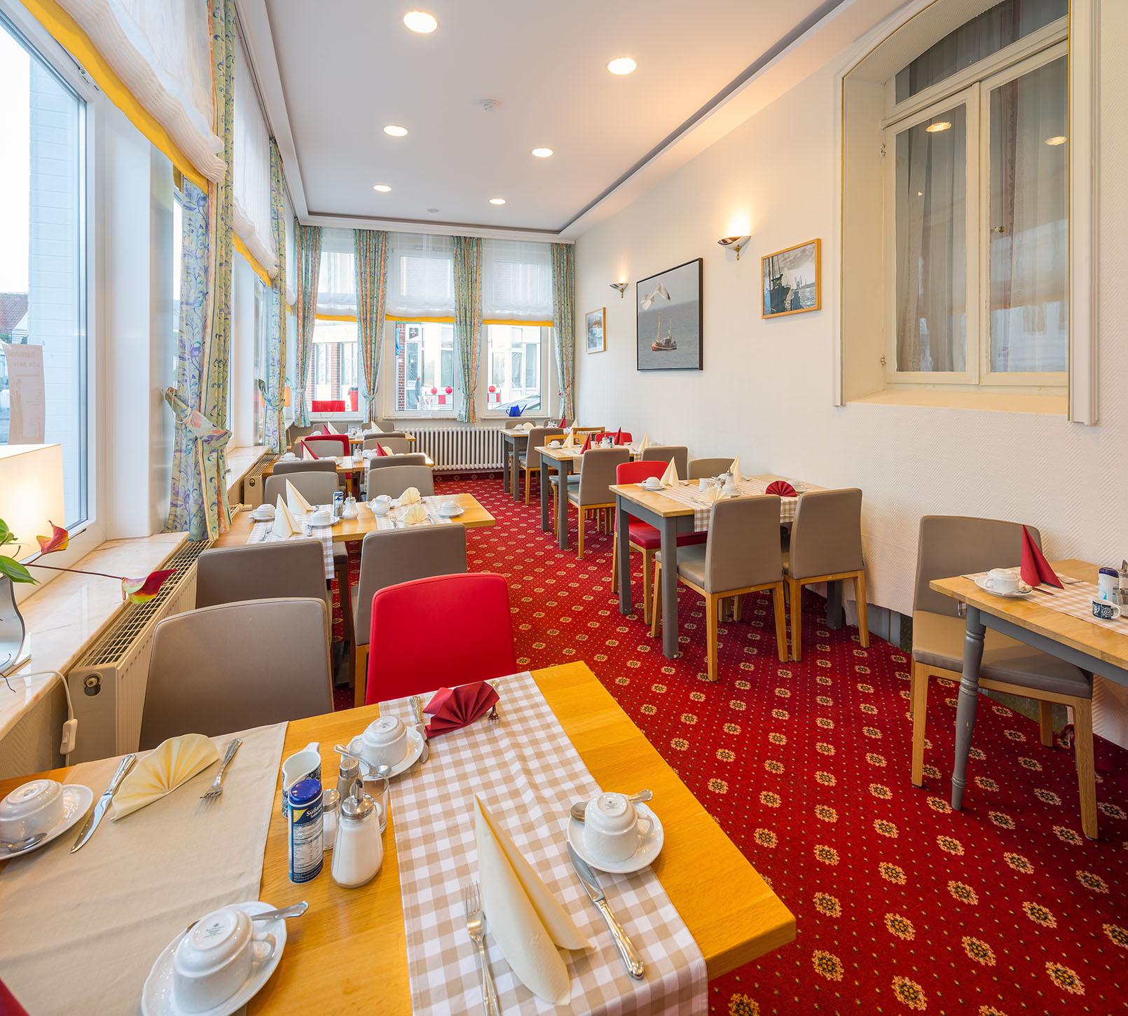 Frühstücksraum im Hotel Cornelius
