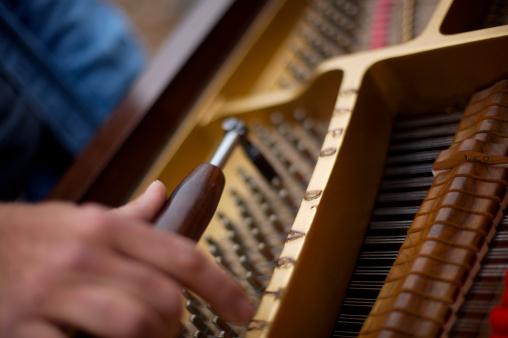 Specialist piano technician